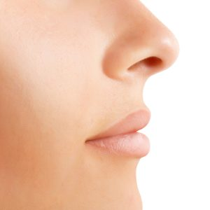 profile image of womans nose | Sacramento ENT