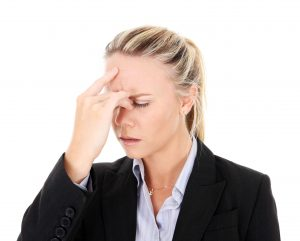 Woman with Sinus pain - Sinus procedure