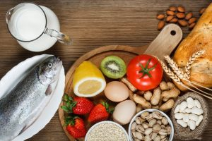 Fish, vegitables, eggs, nuts, fruit - Allergies, food allergies